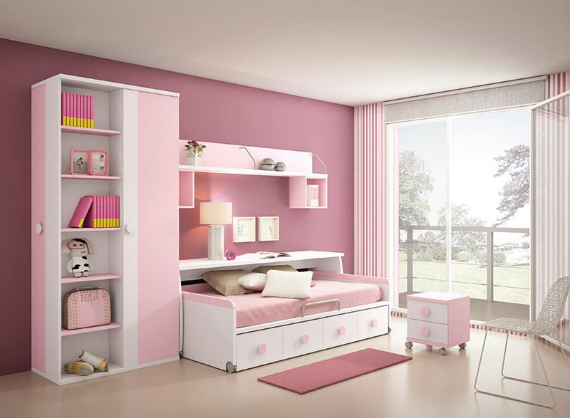 Muebles dormitorios juveniles juveniles completos for Sofas para habitaciones juveniles