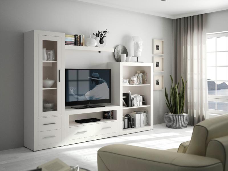 Muebles salones mueble de sal n menorca muebles el para so - Decoracion para muebles de salon ...