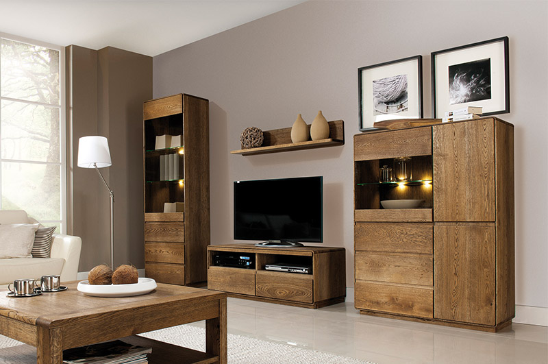 Salones el mueble latest muebles de saln rstico urbano for Mueble comedor minimalista