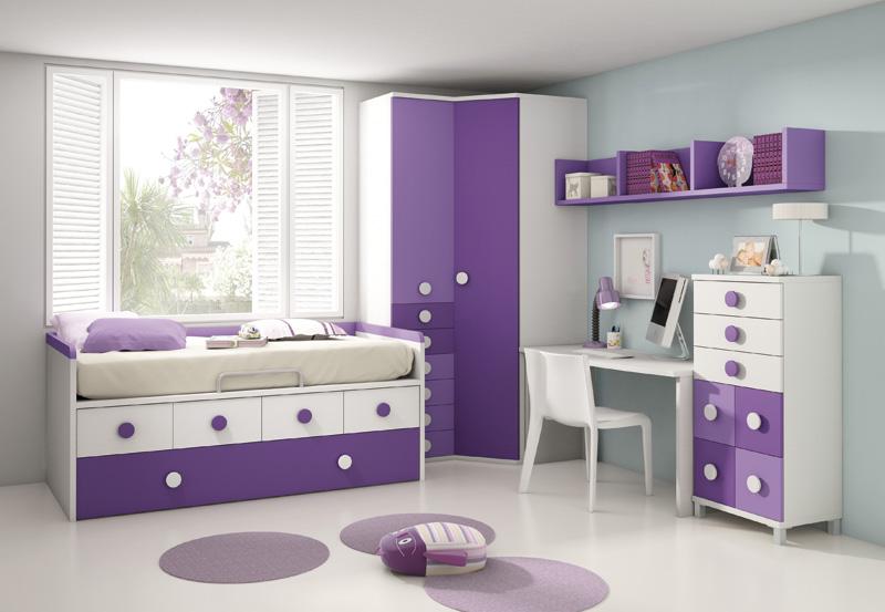 Muebles, Dormitorios Juveniles, Juveniles completos, Dormitorio juvenil Clau ...