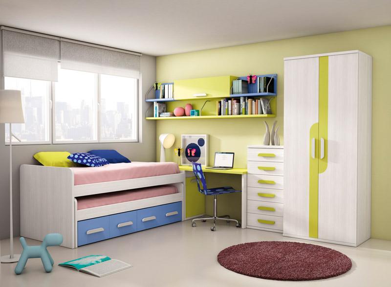 Muebles, Dormitorios Juveniles, Juveniles completos, Dormitorio juvenil Golde...