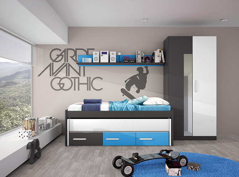 El mueble dormitorios juveniles affordable stop with el - El mueble dormitorio juvenil ...