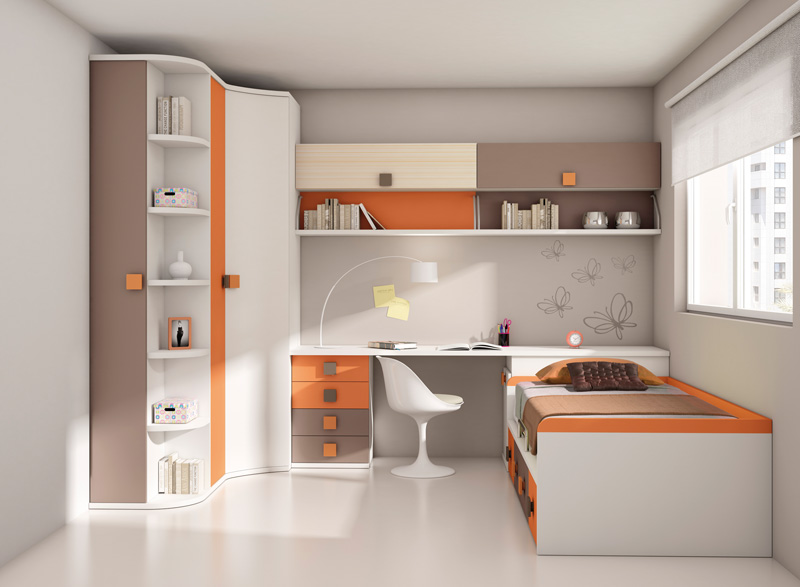 Muebles dormitorios juveniles juveniles completos - Muebles para habitaciones pequenas juveniles ...