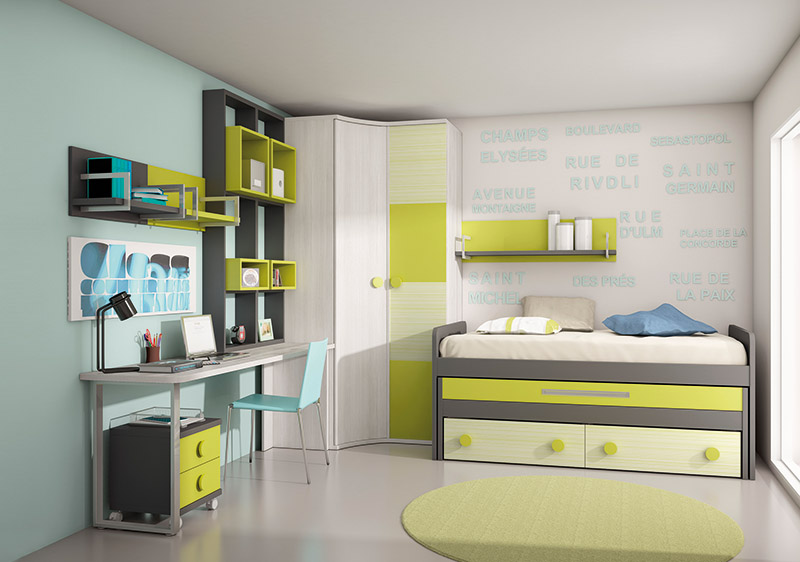 Muebles dormitorios juveniles juveniles completos dormitorio juvenil park muebles el para so - Muebles dormitorio juvenil ...