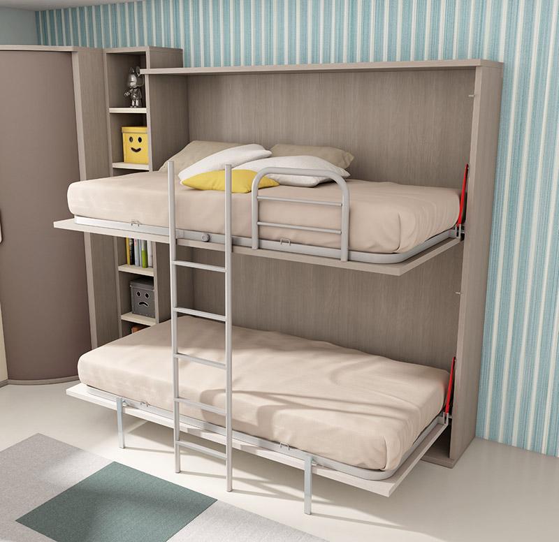 Muebles dormitorios juveniles juveniles completos - Muebles cama plegables para salon ...