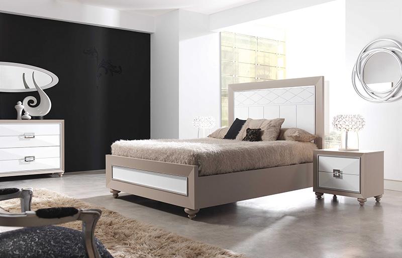 El mueble dormitorios matrimonio catlogo muse espacio for Muebles blancos dormitorio matrimonio