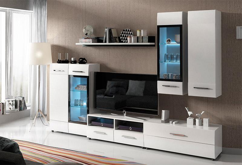 Muebles salones apilables mueble de sal n apilable for Modulos para salon baratos