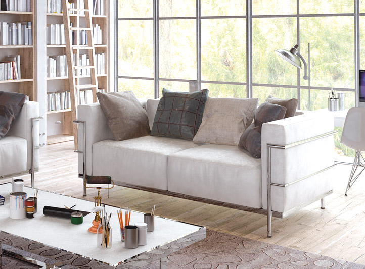 Muebles sof s sof tela sof 3 plazas milan muebles for Muebles el paraiso