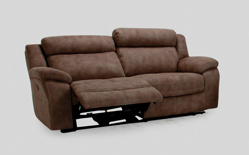 Muebles sof s sof tela sof 3 plazas convars muebles for Muebles el paraiso sofas