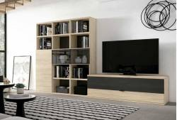 Mueble de salón de 330 cm Mod. Newport