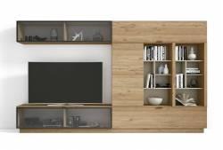 Mueble de salón de 330 cm Mod. Rich