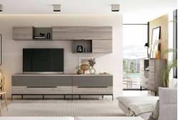 Mueble de salón de 275 cm Mod. Davis