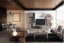 Mueble de salón de 302 cm Seattle