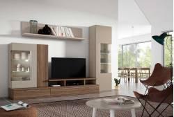 Mueble de salón de 275 cm Craven