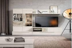 Mueble de salón de 275 cm Ametrine