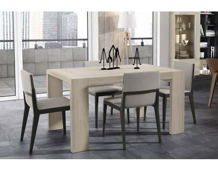 Mesa de comedor extensible de 140 a 230 cm Janko