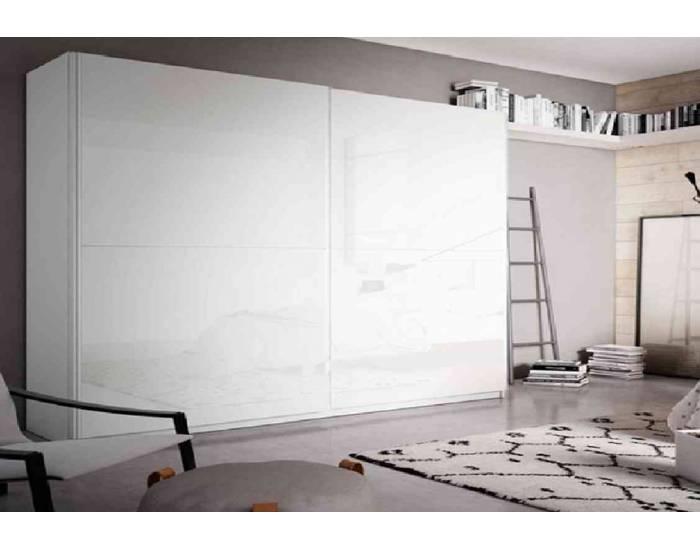 Armario de 240 cm con puertas correderas