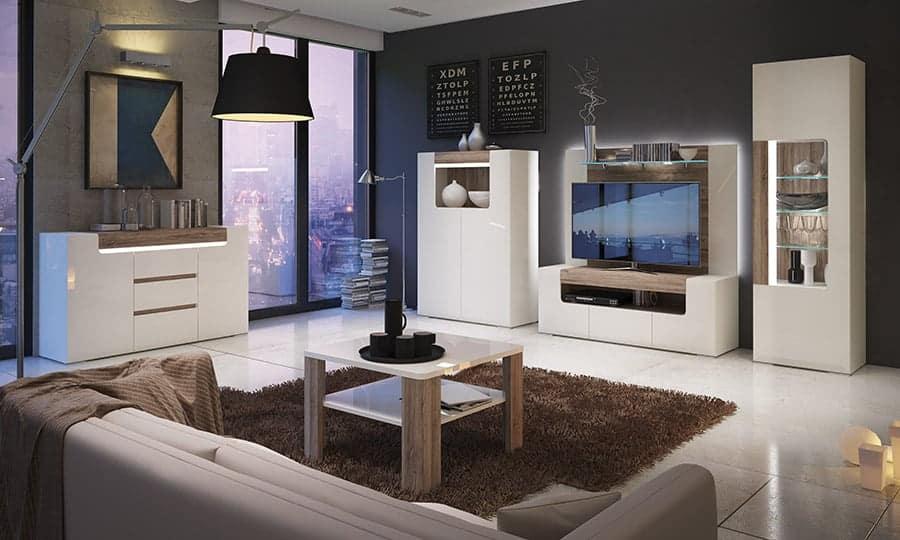 Salones modernos para casas actuales
