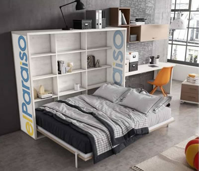 Cama Abatible horizontal | Muebles El Paraíso