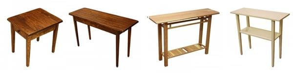 Tipos de mesas - Muebles El Paraíso