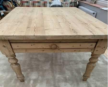 Mesas Pino - Muebles El Paraíso