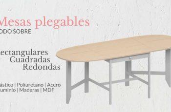 Todo sobre mesas plegables para tu Salón, Cocina.. | Muebles El Paraíso