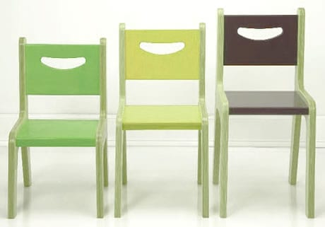 Diferentes tipos de silla para cada altura