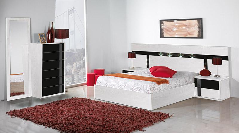 Dormitorio Color Blanco | El Paraíso