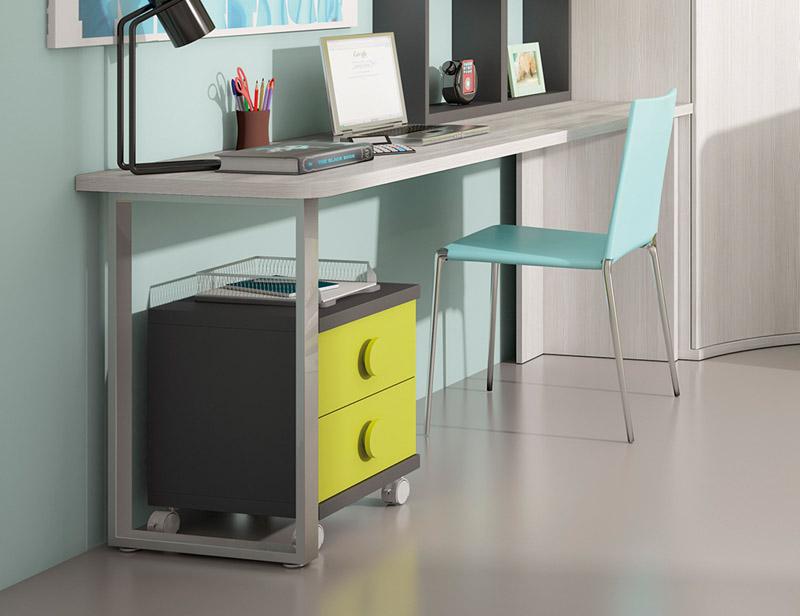Muebles mesas mesas de escritorio mesa de escritorio park muebles el para so - Mesas estudio juveniles ...