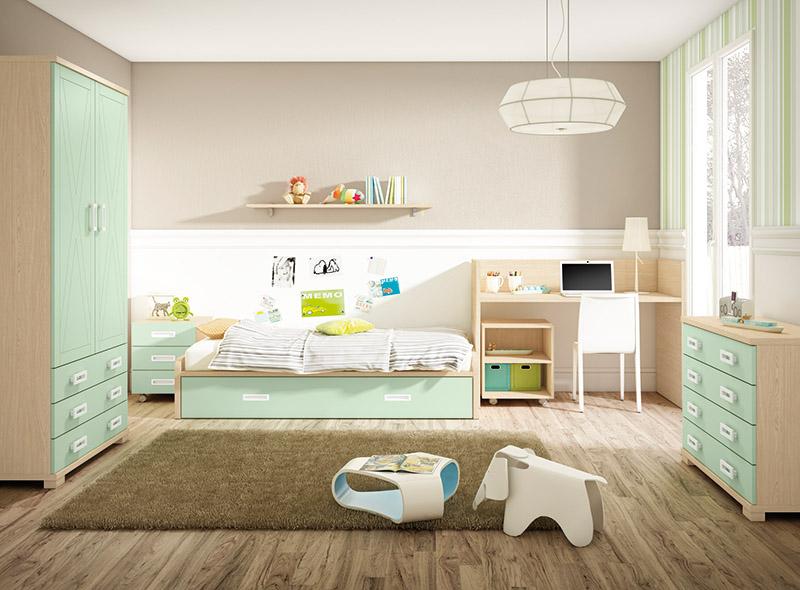 Muebles dormitorios juveniles juveniles completos cama for Dormitorios juveniles completos