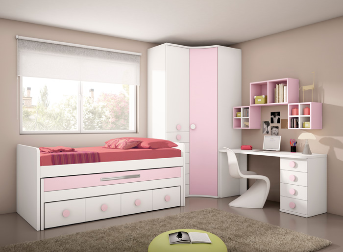 Muebles dormitorios juveniles juveniles completos for Habitaciones juveniles ikea