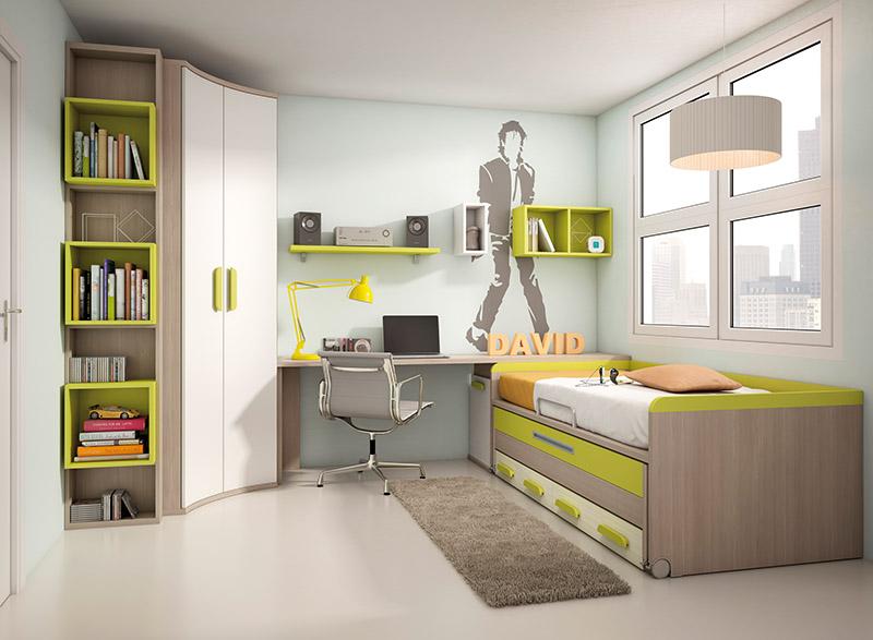 Muebles dormitorios juveniles juveniles completos - Habitaciones completas ...