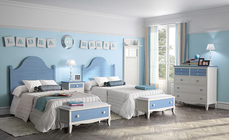 Muebles dormitorios juveniles juveniles completos for Dormitorios juveniles dos camas