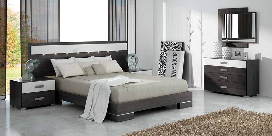 Muebles dormitorios matrimonio dormitorios completos dormitorio de matrimonio zas muebles - Muebles modernos para habitaciones ...