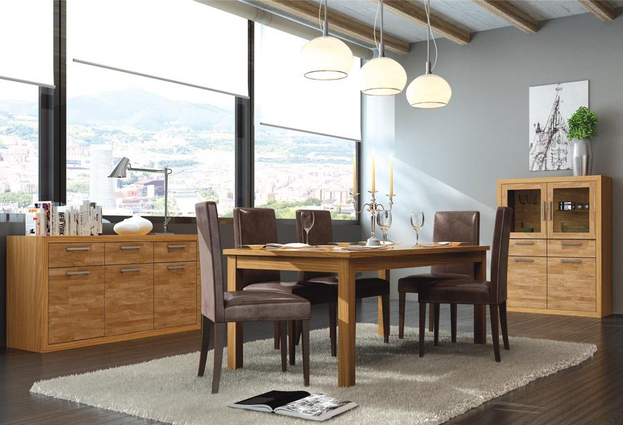 Muebles salones comedor waine muebles el para so for Visillos para salon comedor