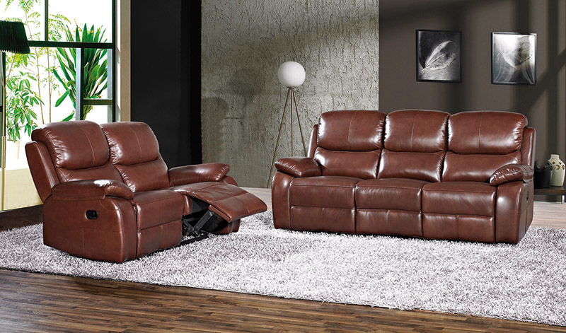 Muebles, Sofás, Sofá piel, Sofá 3 plazas eléctrico Mayson | Muebles ...
