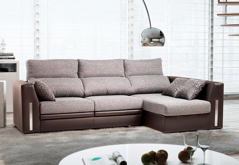 Muebles sof s sof tela sof chaisse longue erdiko for Tela sofa exterior