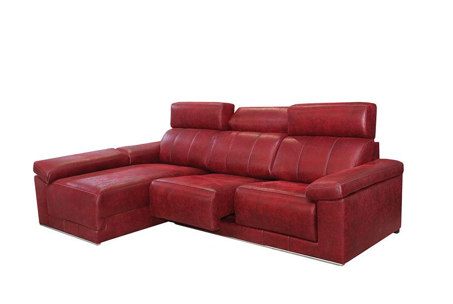 Muebles, Sofás, Sofá tela, Sofá 3 plazas con chaise longue Forum ...