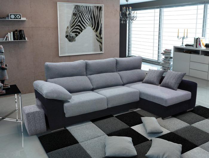Increíble 3 Plazas Sofá Con Chaise Muebles Elaboración - Muebles ...