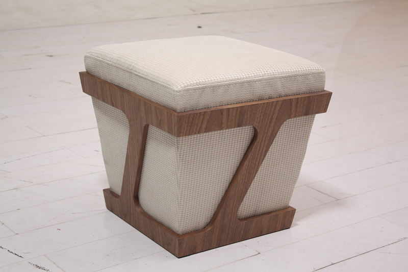 Puf de madera