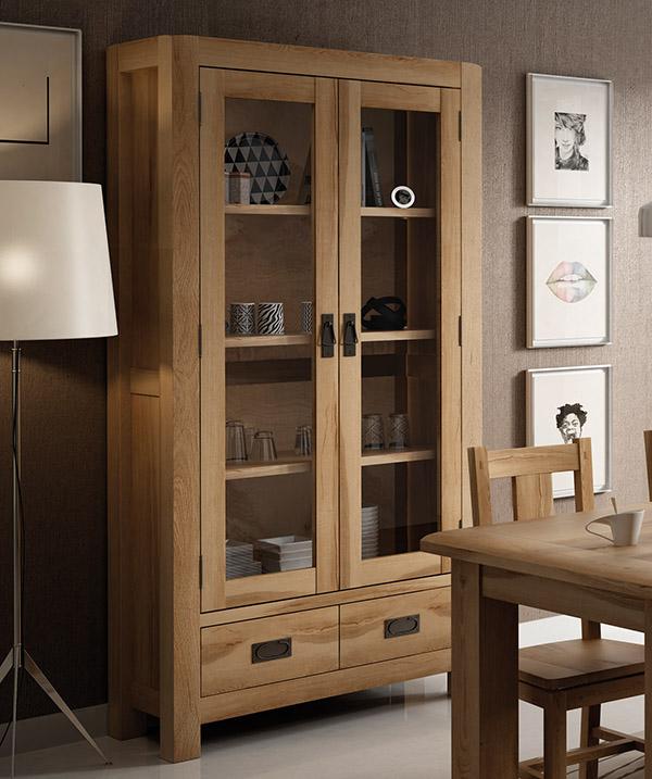 Decorar la vitrina de manera original en tu salón, comedor y cocina